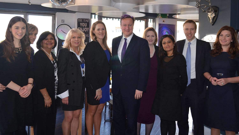 Meeting David Cameron