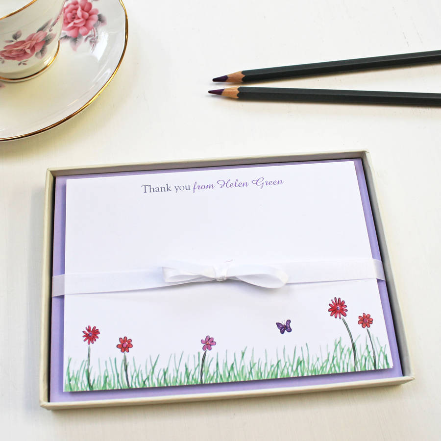 original_personalised-flowers-and-nature-notecards-set