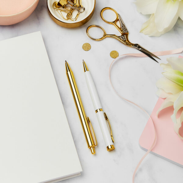 Martha brook choice of pens for wedding guest books