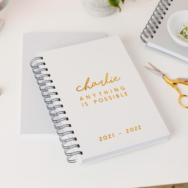 Martha-Brook-Personalised-Modern-Mid-Year-Diary-2021-2022-Grey-Hardcover-A5-Stationery