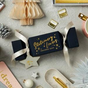 stationery lovers cracker gift