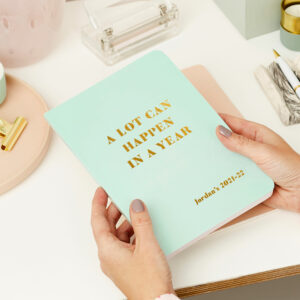 Martha-Brook-Personalised-A-Lot-Can-Happen-2021-2022-Mid-Year-Diary-Stationery-Softback-Academic-A5