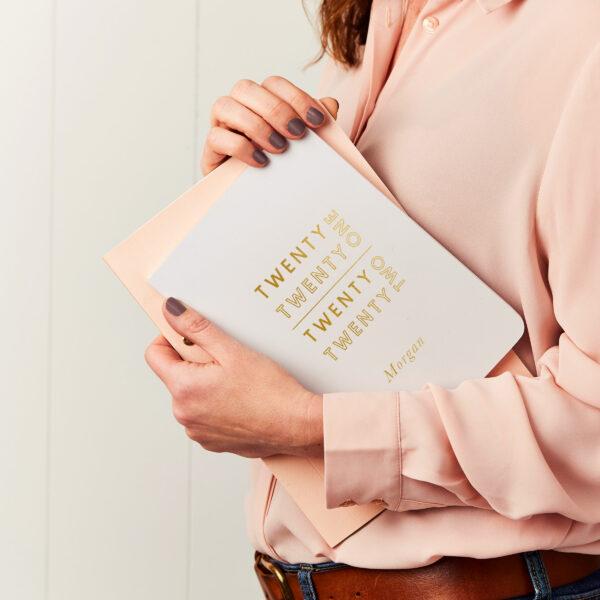Martha-Brook-Personalised-Smart-2021-2021-Midyear-Academic-Diary-Pebble-Softback-Gold-foiling-stationery-scaled.jpg