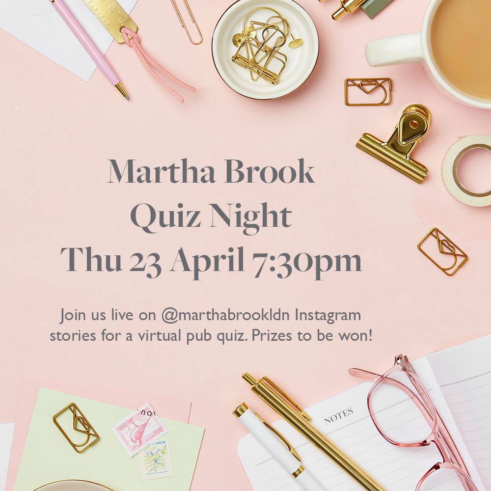 Martha Brook pub quiz