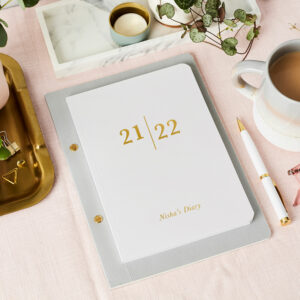 Martha-Brook-Personalised-Analogue-2021-2022-Mid-Year-Diary-Softback-A5-Academic-Gold-Foiling-Customise-Stationery-scaled.jpg