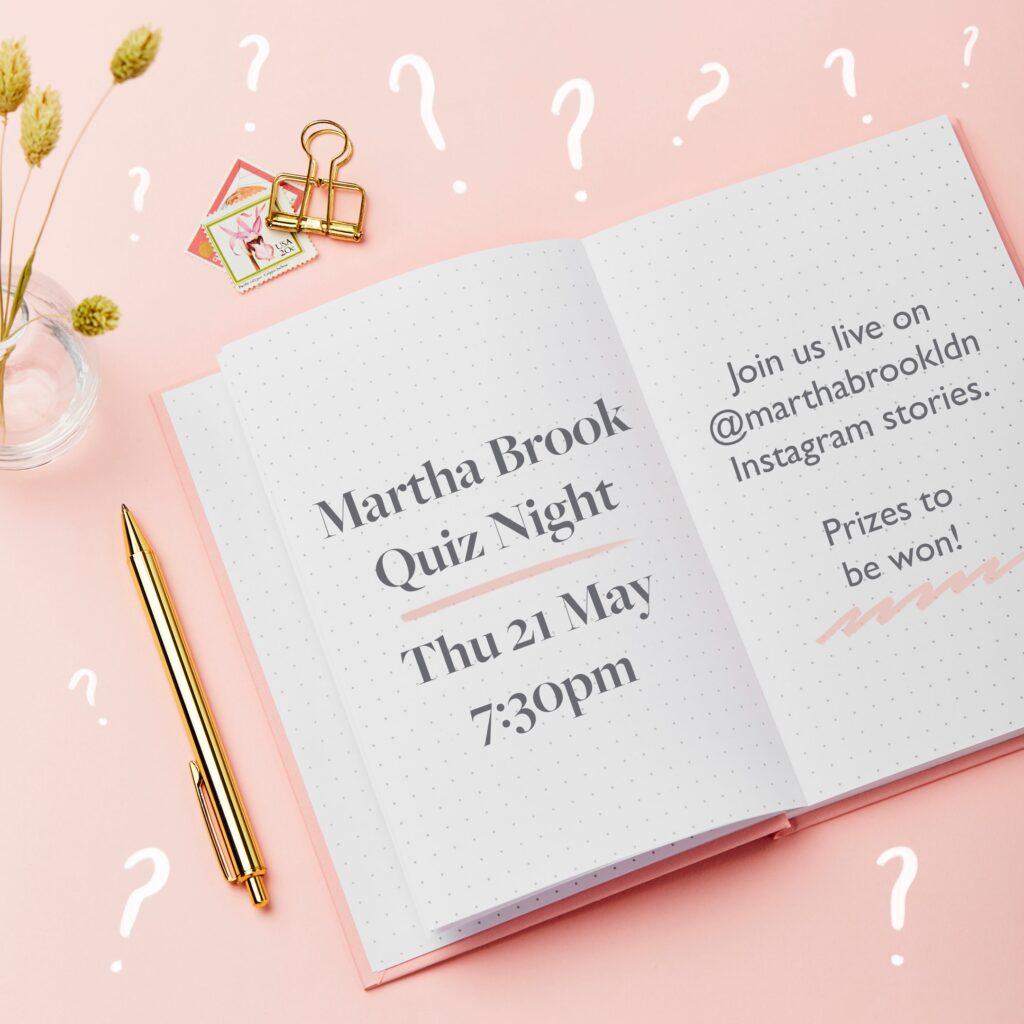 Martha Brook Quiz Night