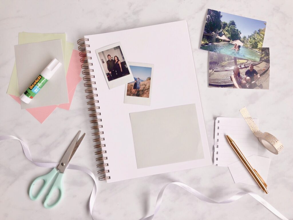 Martha Brook A beginner guide to scrapbooking - easy ideas to get started 1
