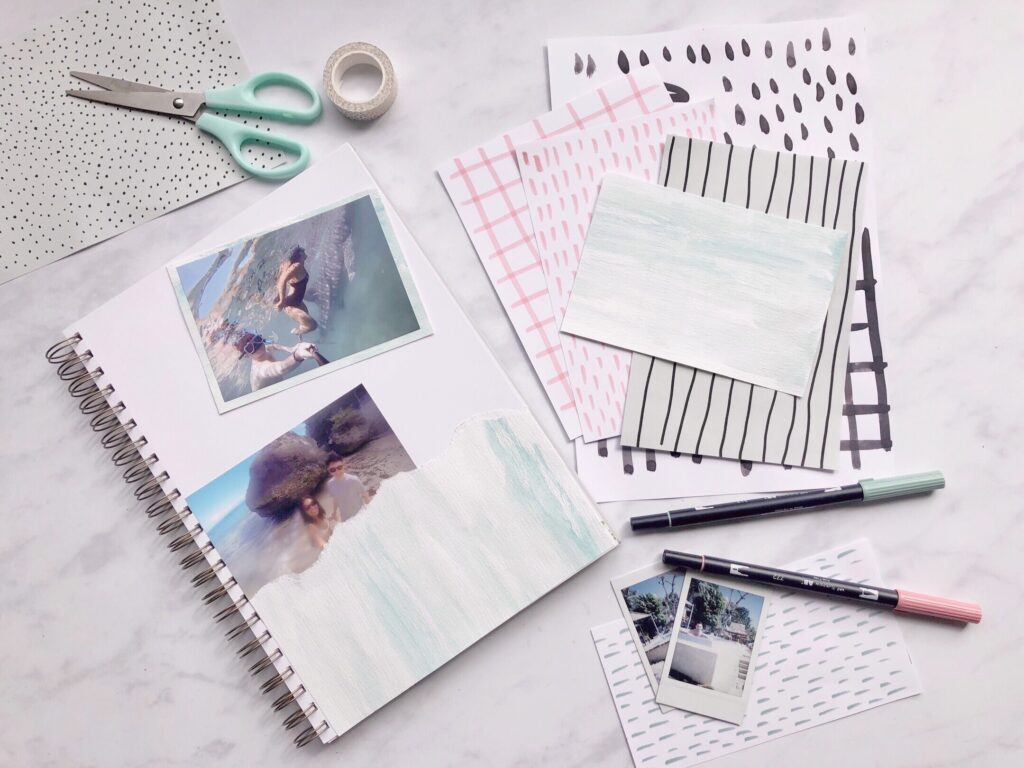 Martha Brook A beginner guide to scrapbooking - easy ideas to get started 2