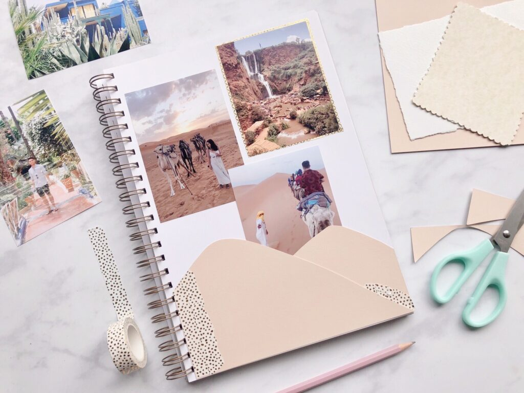 Martha Brook A beginner guide to scrapbooking - easy ideas to get started 4