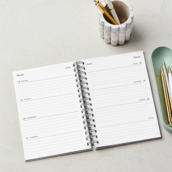 Martha Brook Inside of 2022 Weekly Diaries