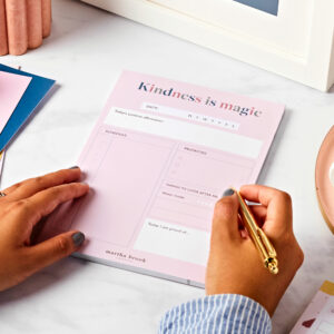 Self-Care Daily Planner Desk Pad