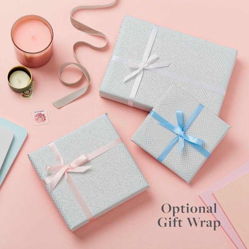 Optional gift wrap