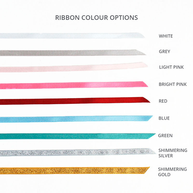 Ribbon colours