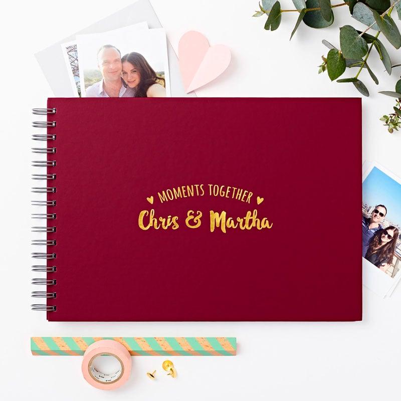 Couple's 'Moments' Photo Album