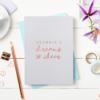 Dreams And Ideas Foiled Softback Notebook