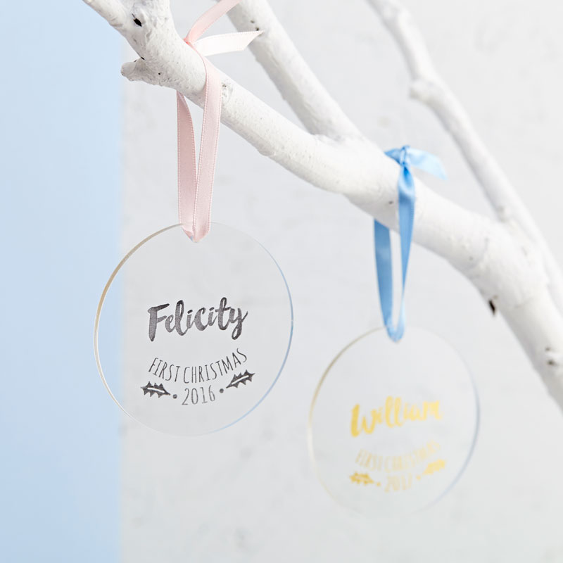 Baby's First Christmas Decoration Gift Set