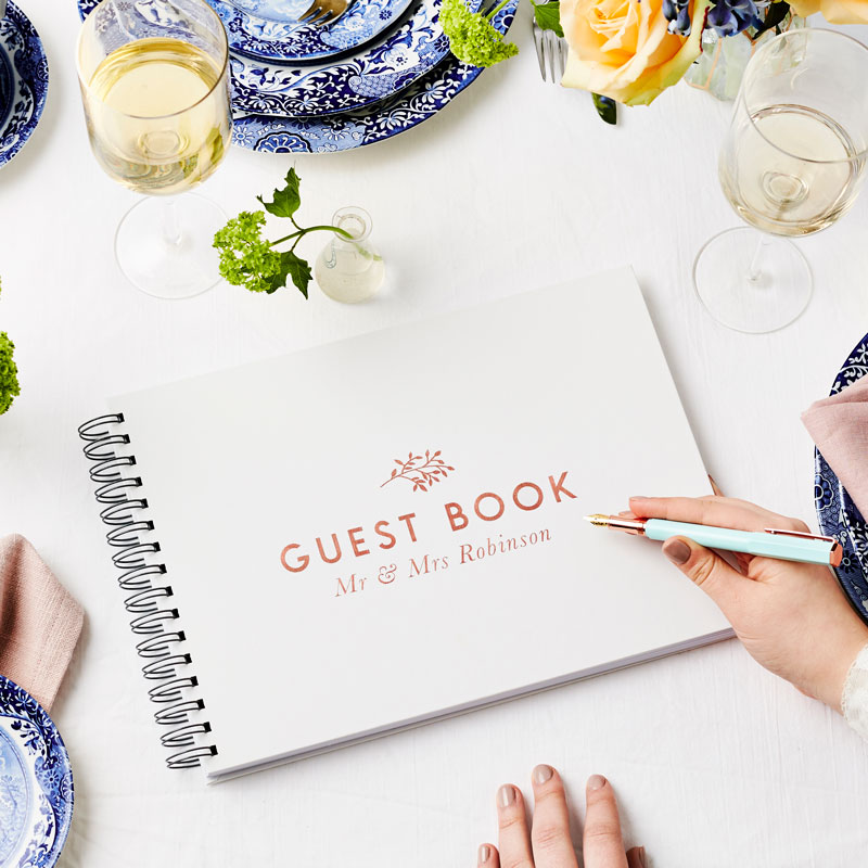 Traditional Guest Book
