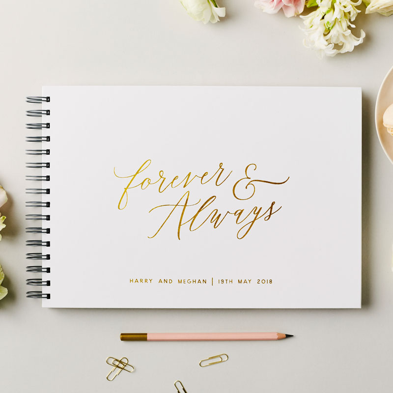 Forever & Always Guest Book