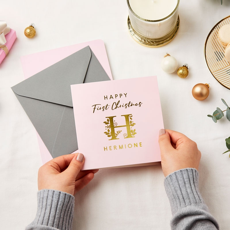 Baby's First Christmas Foiled Card