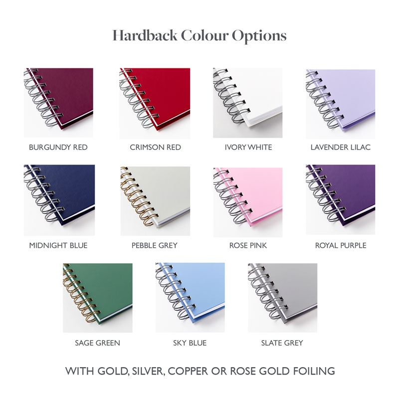 Diary colour options