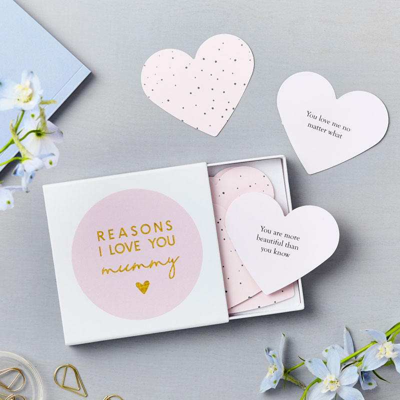Heart Love Mum Notes