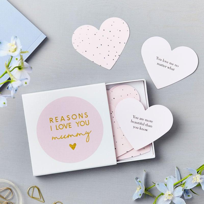 Heart Love Mum Notes