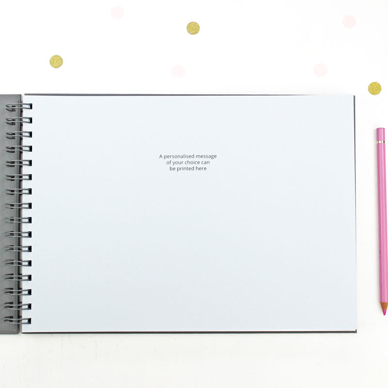 Optional personalised inside page