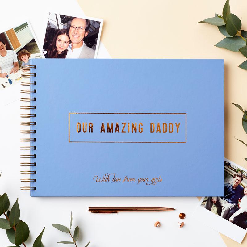 Amazing Dad Memory Book