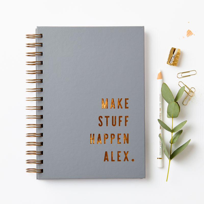 Copper 'Make Stuff Happen' Notebook