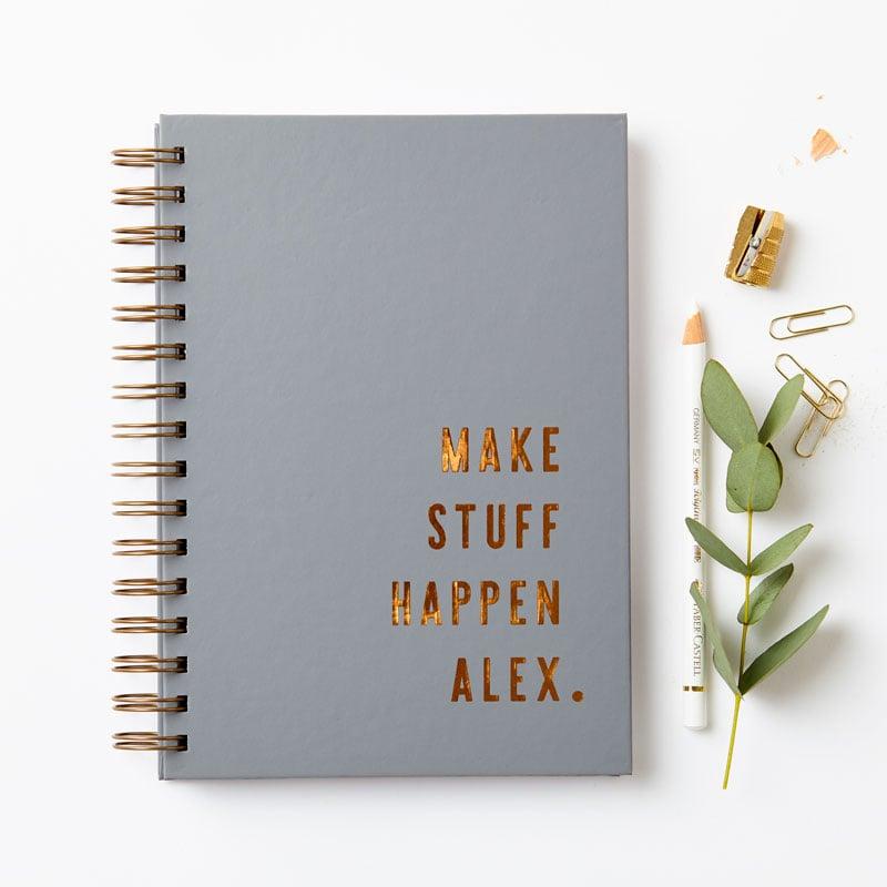 Copper 'Make Stuff Happen' Notebook