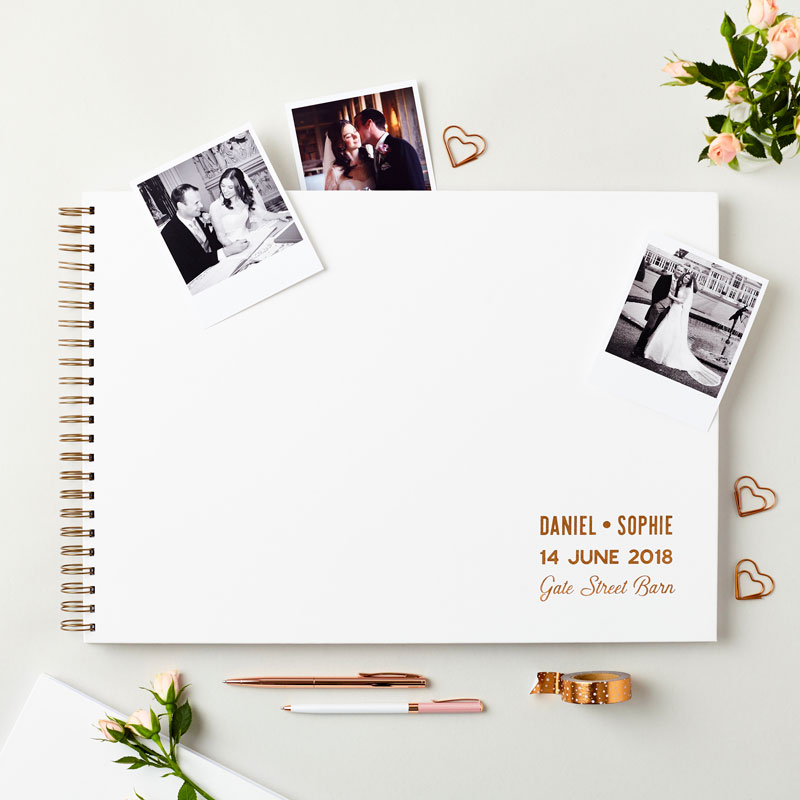 Extra Large Wedding Guest Book