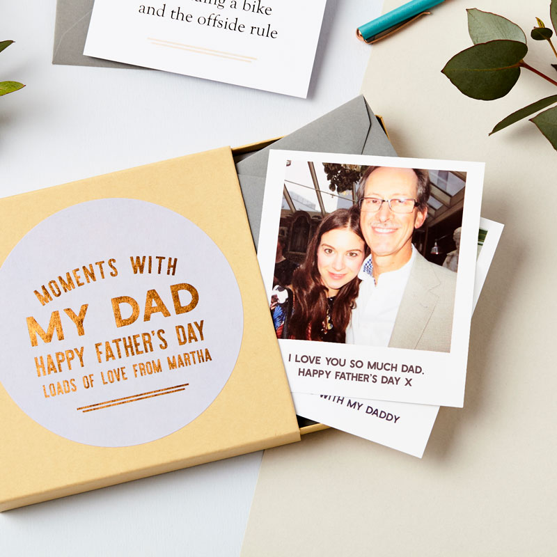 Moments with Dad Memory Box