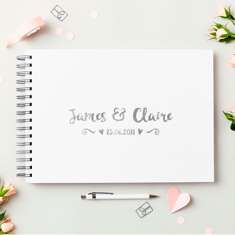 Names Wedding Guest Book
