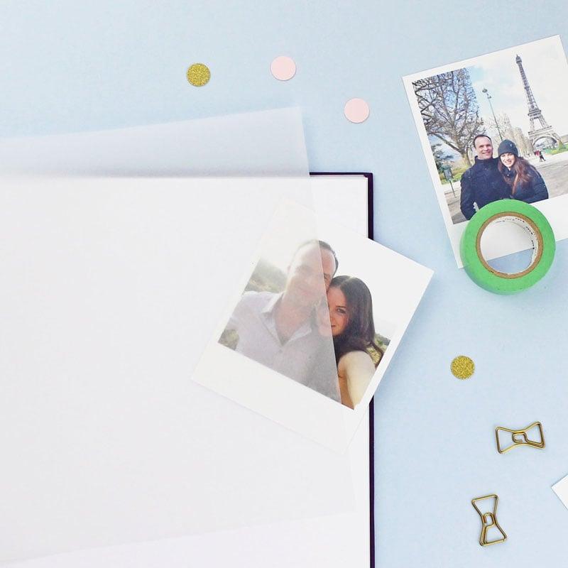 Inside the photo album