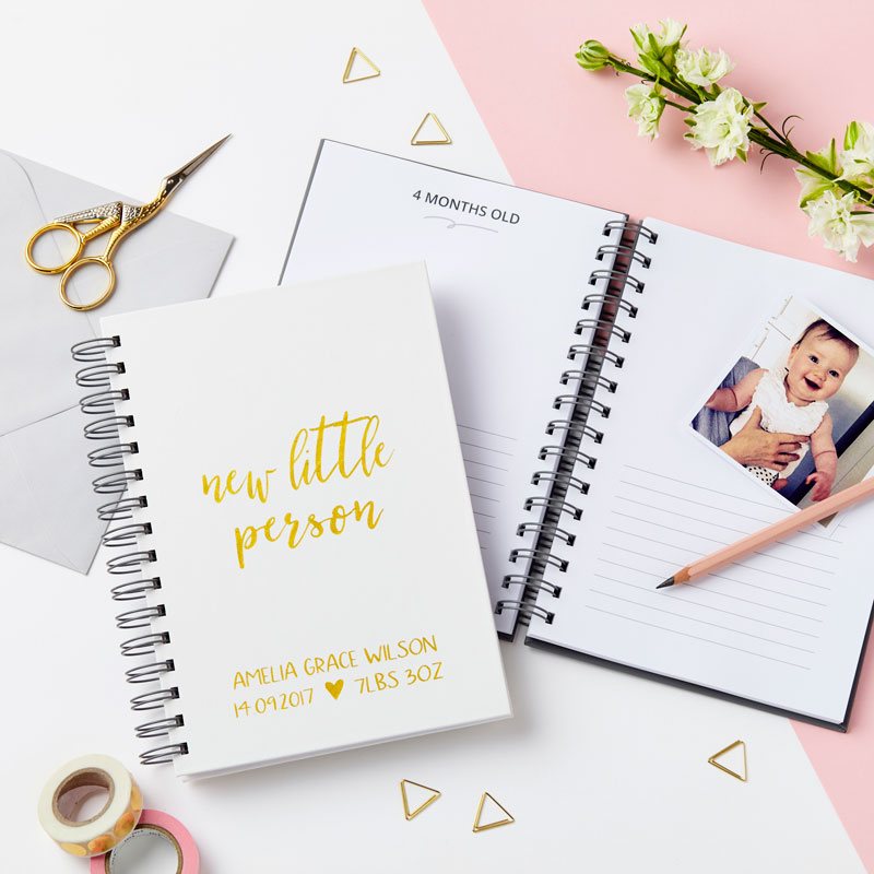 'Little Person' Baby Journal