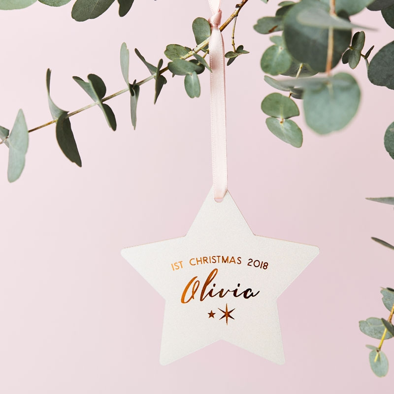 Baby's First Christmas Celestial Decoration