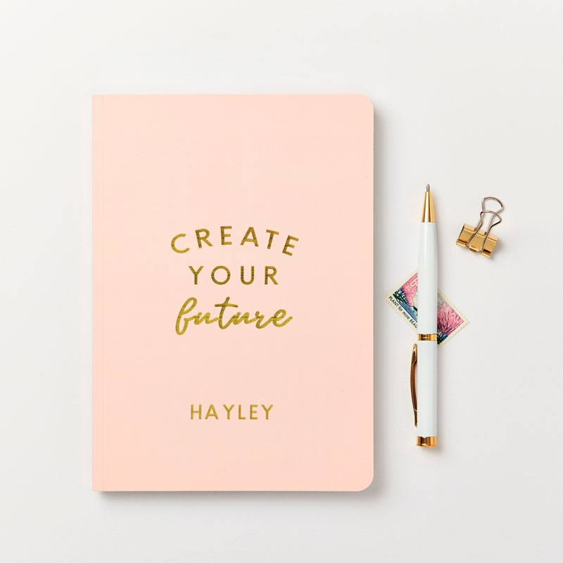 Create Your Future Foiled Notebook