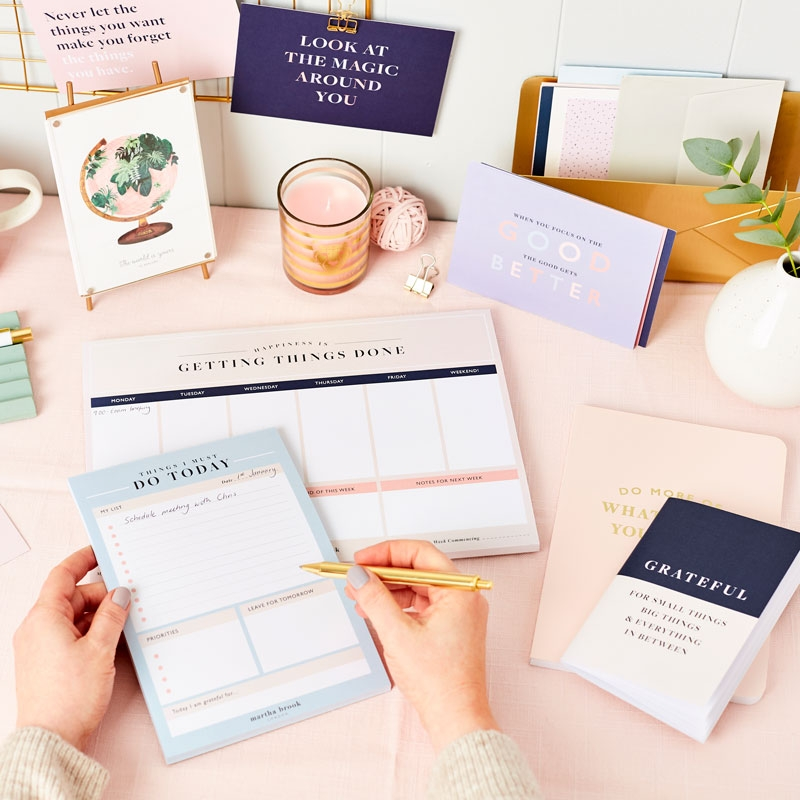 'Happiness' Daily To Do Planner Pad