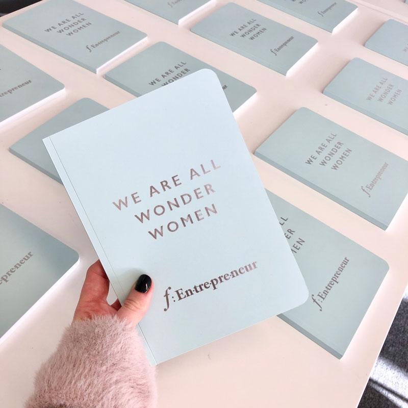 We Are All Wonder Women f:Entrepreneur Notebook