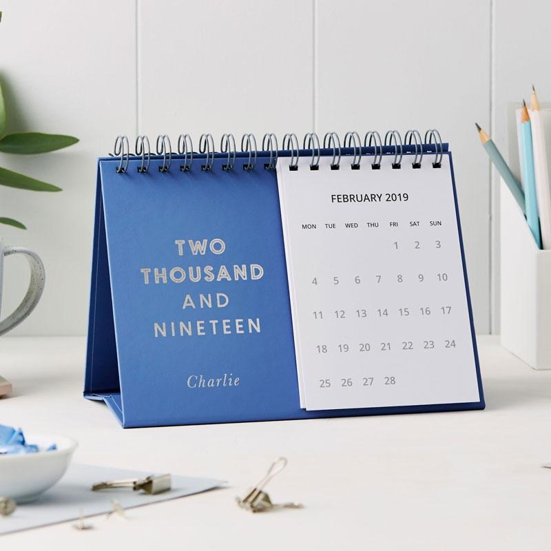 Smart 2019 Desk Calendar