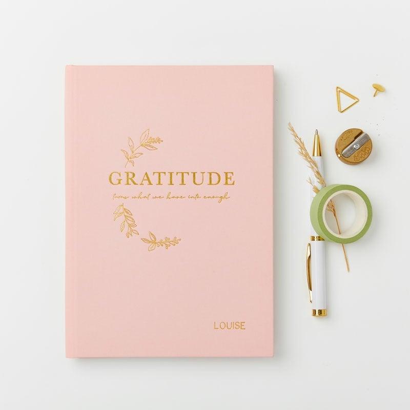 Full of Gratitude Hardback Notebook