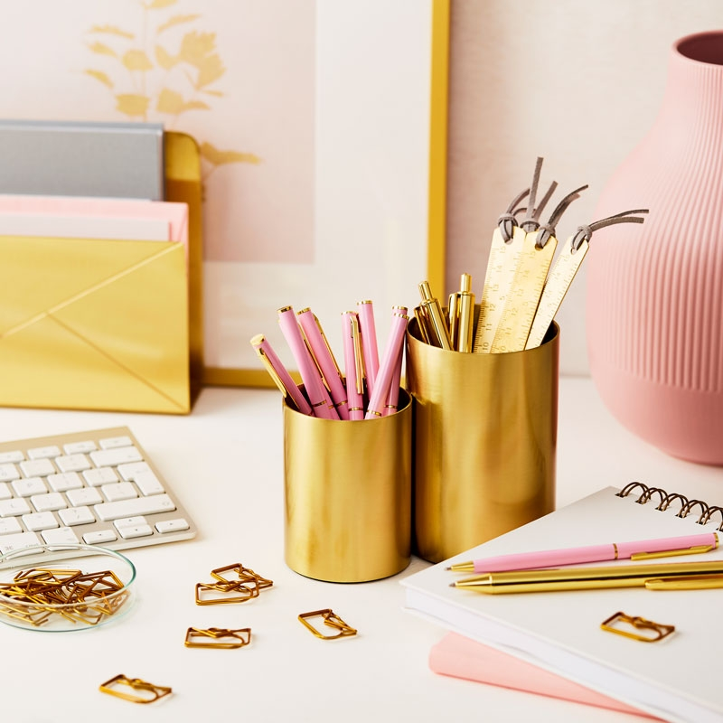 Brass Envelope Paperclips