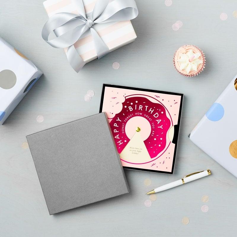 Happy Birthday Doughnut Reveal Wheel
