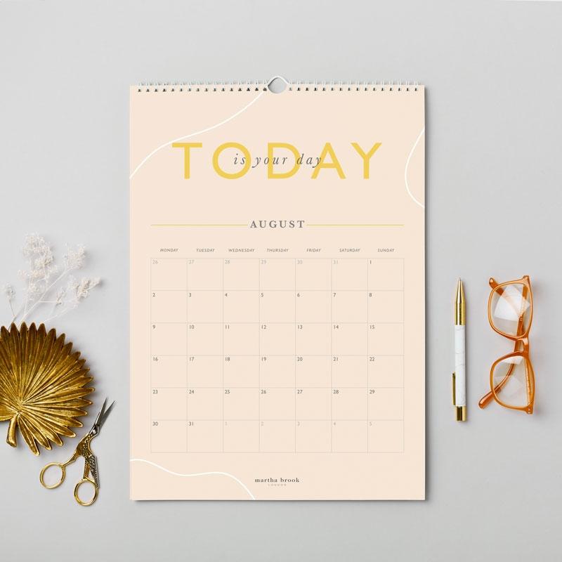Inspirational 2021 Wall Calendar