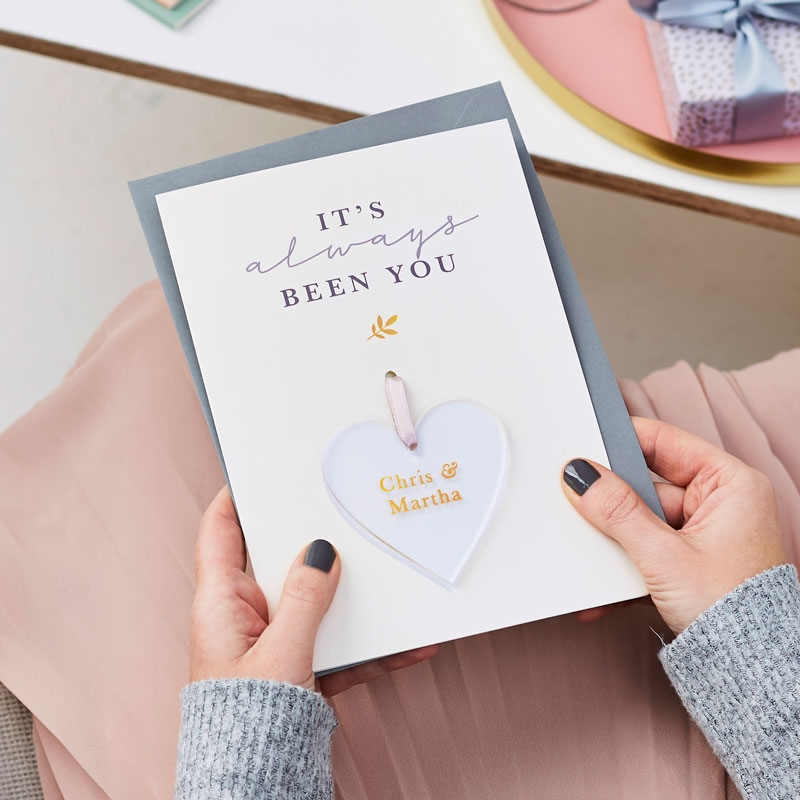 Always You Foiled Keepsake Card