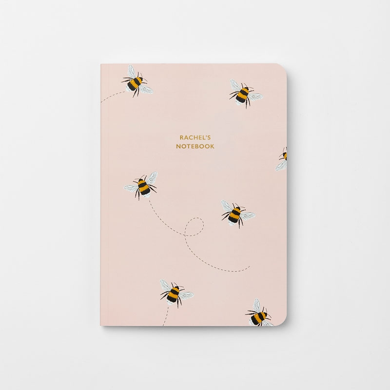 Personalised Bee Stationery Gift Set