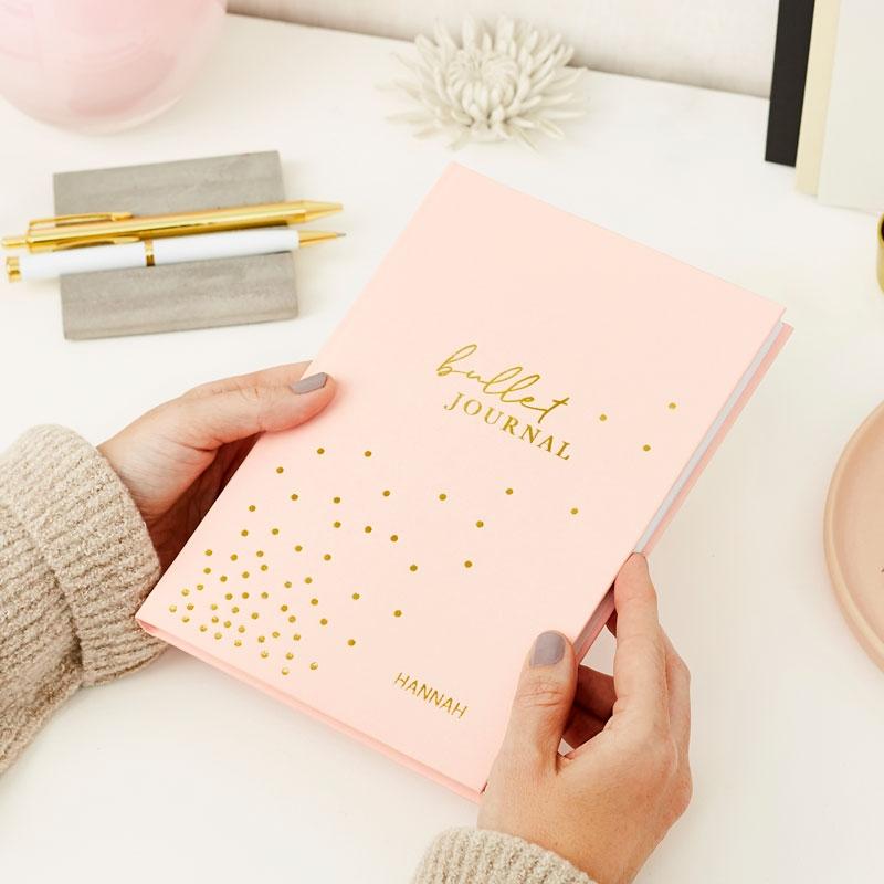 Bullet Journal Hardback Notebook