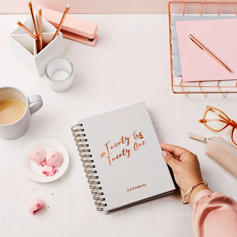 Charming 2021 Weekly Diary