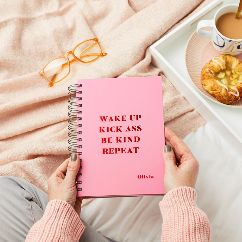 Daily Mantra Hardback Luxe Notebook