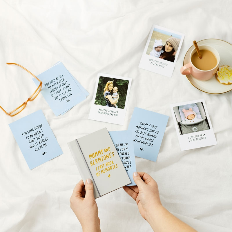 First Mother's Day 'Book Of Memories'